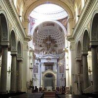Chiesa Sant'Agostino e Fontana di Saturno