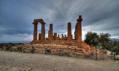 Il tempio di Giunone nella Valle dei Templi (Agrigento)
